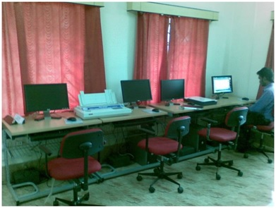 IT infrastructure and LANs for e-learning centers at schools